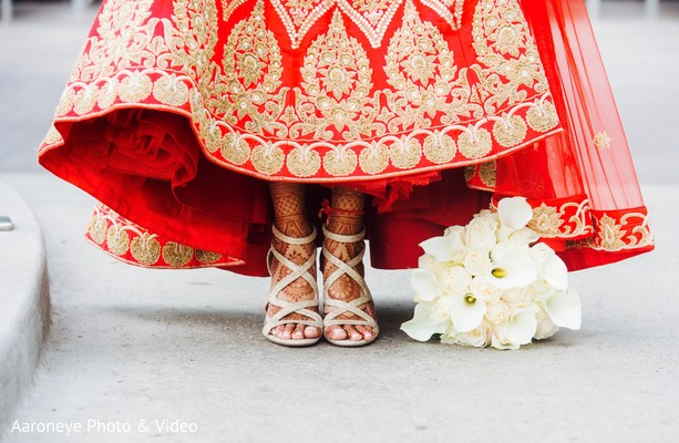 indian wedding shoes,indian bridal bouquet,indian bridal lengha
