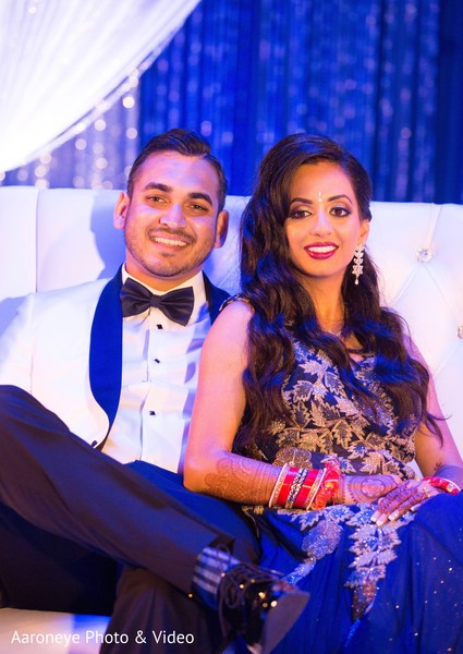 Lovely indian couple photosession at wedding reception in San Diego, CA Indian Wedding by Aaroneye Photography