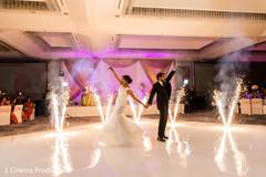 Bride and groom phenomenal dance.
