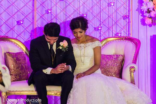 See this lovely indian wedding reception.