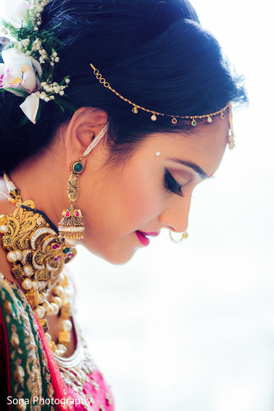 indian bride,indian bride hair and makeup