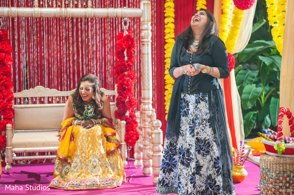 Maharani having fun