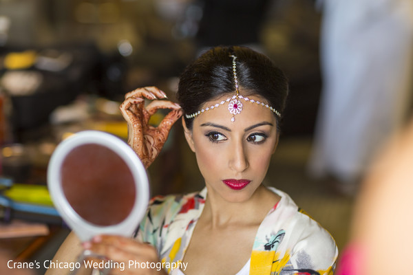 indian bridal hair and makeup,indian bride makeup,indian bride getting ready