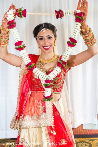 Maharani holding her garland