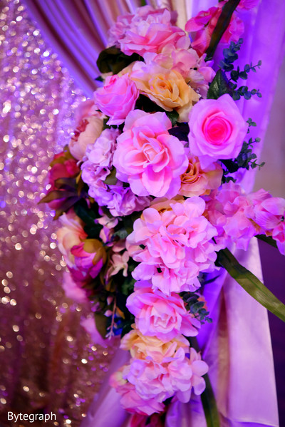 indian wedding reception floral and decor,indian wedding photography,indian wedding reception
