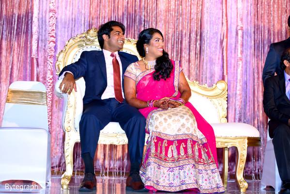 indian bride reception fashion,indian groom fashion,indian bride and groom