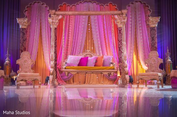 sangeet stage,sangeet decoration,indian pre-wedding celebrations