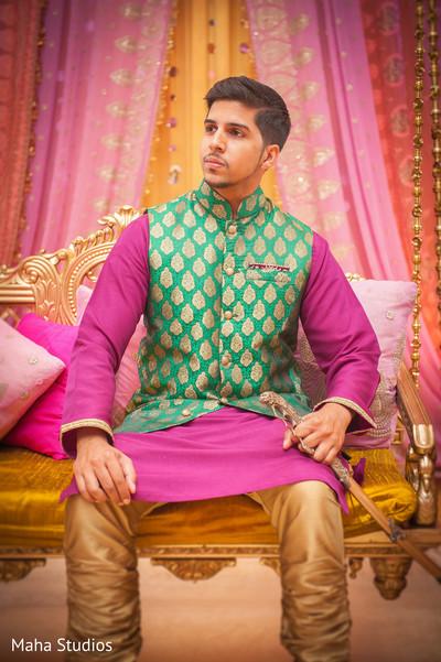 sangeet decoration,indian pre-wedding celebrations,indian sangeet,indian groom