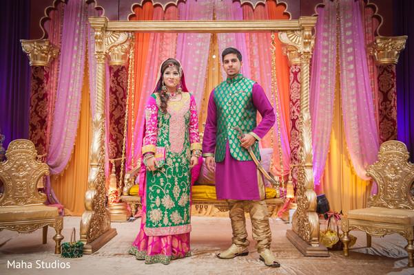 sangeet decoration,indian sangeet,indian bride,indian groom