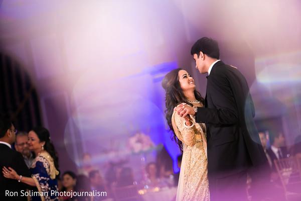 indian wedding couple,indian wedding reception,dj