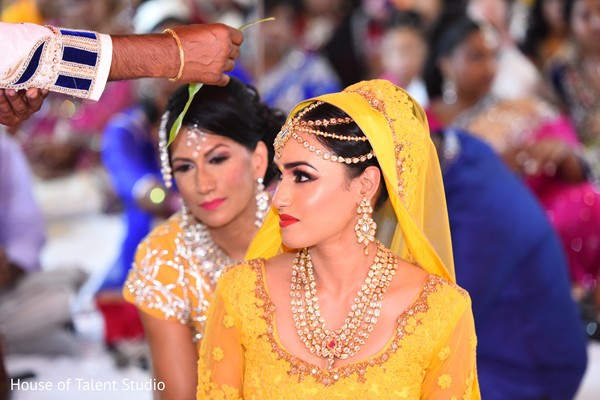 Maharani during a pre-wedding ceremony.