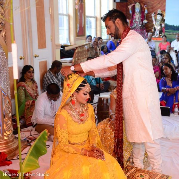Pre-wedding ceremony.