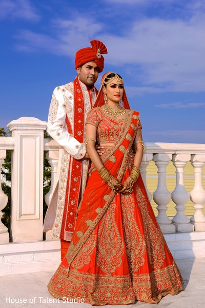 Indian Couple Wedding Style In New York Fusion By House Of Talent Studio