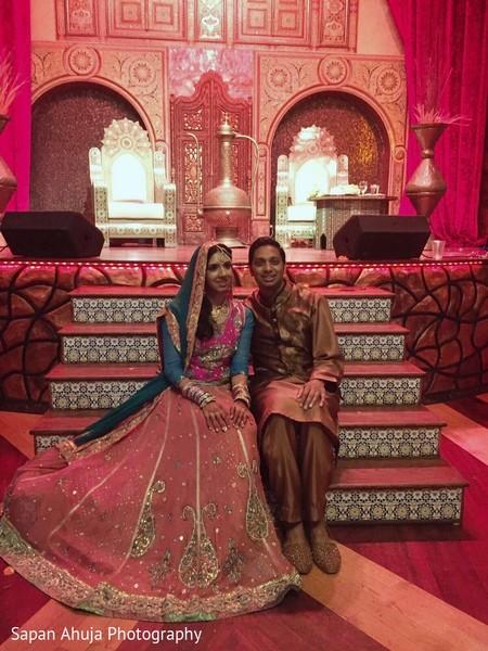 indian bride and groom,indian bridal lengha,indian groom sherwani