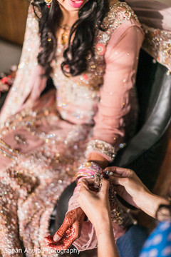 pakistani bride,indian wedding jewelry,indian bride getting ready