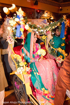 indian weddings,indian sangeet,pakistani bride,rickshaw