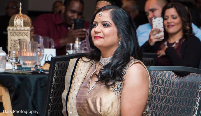 Bride at the wedding reception.