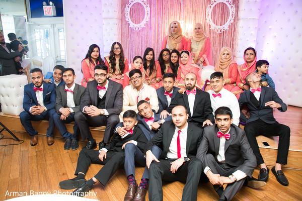 indian wedding reception,indian bride,indian groom,indian bridesmaids,indian groomsmen