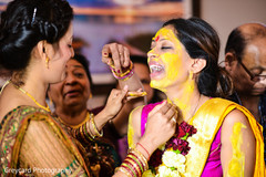 indian bridal fashions,indian pre-wedding celebrations,indian pithi