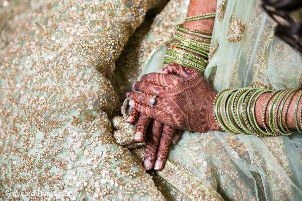 Beautiful bridal bangles