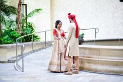 indian wedding first look,indian bridal lengha,indian groom fashion