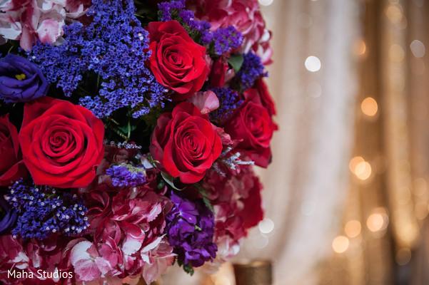 Lovely floral decor.