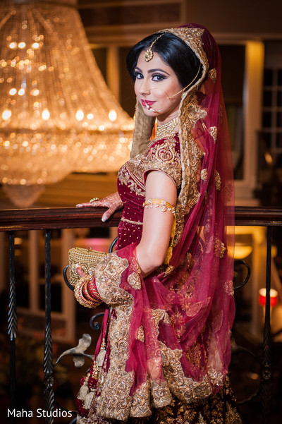 Pakistani bride fashion.
