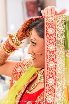 indian bride,indian bridal hair and makeup,indian wedding jewelry,indian bride getting ready