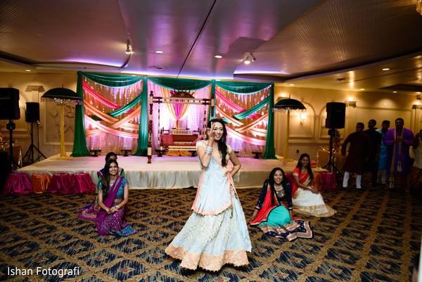 Bride's performance