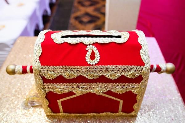Indian wedding chest.