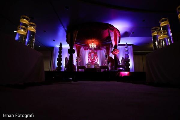 Fabulous indian wedding ceremony lightning.