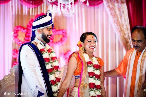Maharani and Raja's wedding reception.