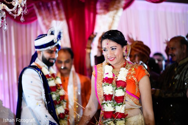 Traditional Indian wedding ceremony.