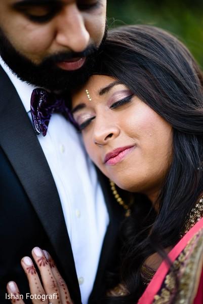 Heartfelt indian wedding photo.