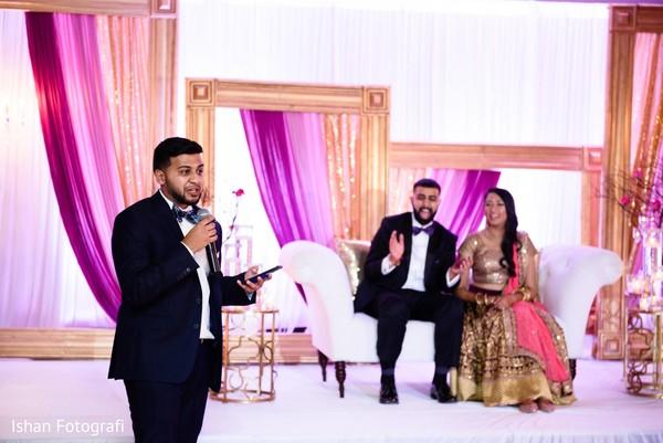 Indian wedding speech.