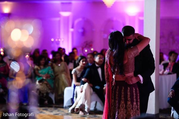 Heartfelt first dance photography.