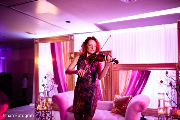 Wedding violinist player.