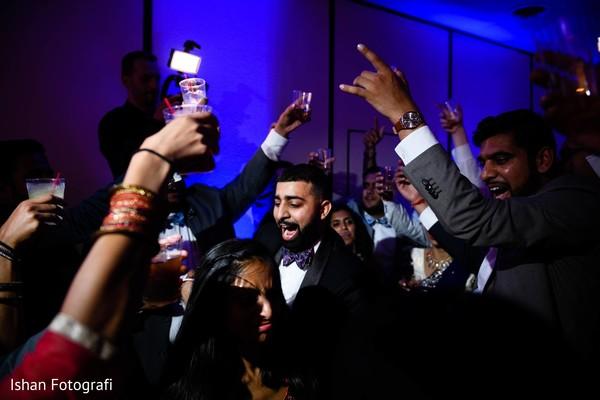 Great wedding reception capture.