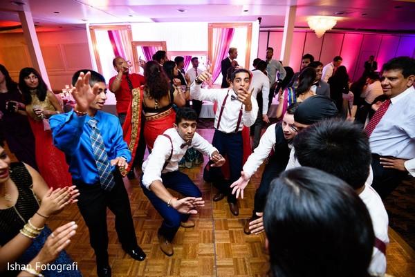Indian Wedding reception.
