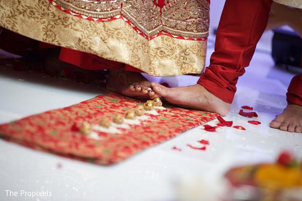 Indian wedding ceremony moments
