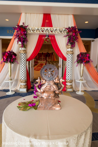 Indian wedding ceremony decor