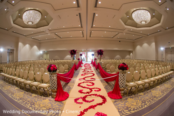 Indian wedding ceremony before everybody arrived