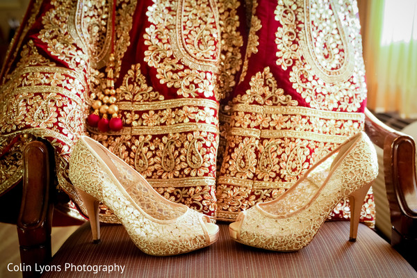 bridal heels,indian wedding shoes,indian bridal fashions