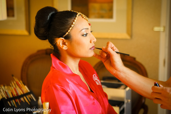 indian bride makeup,makeup artist,indian bride getting ready
