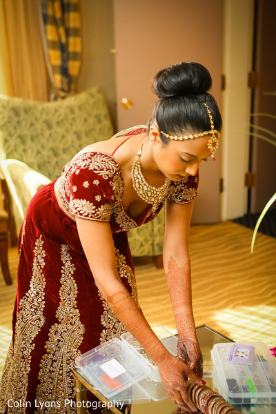 Maharani getting ready