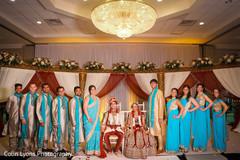 indian bridal party,indian wedding,indian bridal fashions