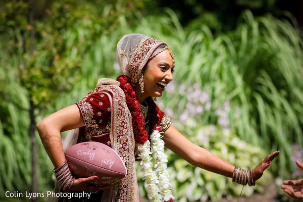 Fun wedding photo shoot