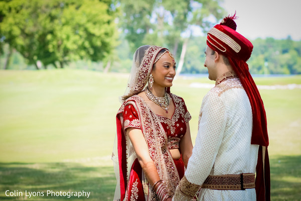 Candid indian couple during their photo session