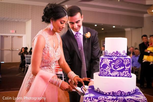 Gorgeous tier wedding cake
