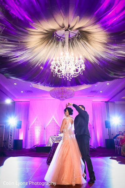 indian wedding gowns,tuxedo,indian bride and groom first dance